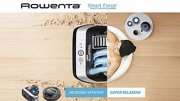 Robart - Rowenta´s new cleaning helper