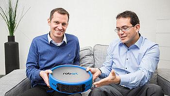 Robart founders Michael Schahpar and Harold Artés